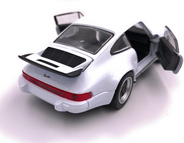 Welly Porsche 911 Turbo 930 1975 patente auto modello prodotto 1 39 rosso 34-1