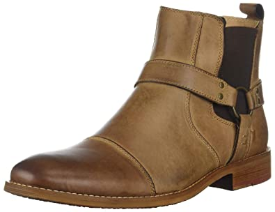 new style 73517 1f77b Steve Madden Men s Radian Chelsea Boot Dark tan 11 ...