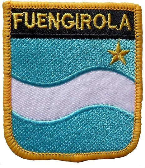 Parche Bordado con Escudo de Fuengirola de España, 1000 Banderas: Amazon.es: Hogar