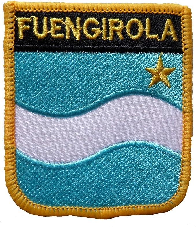 Parche Bordado con Escudo de Fuengirola de España, 1000 Banderas ...
