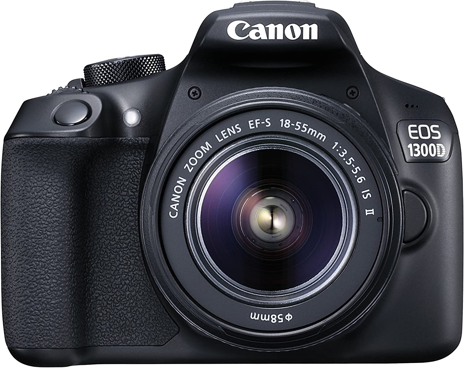 Canon EOS 1300D DSLR Camera with EF-S18-55 IS II F3.5-5.6 Lens ...