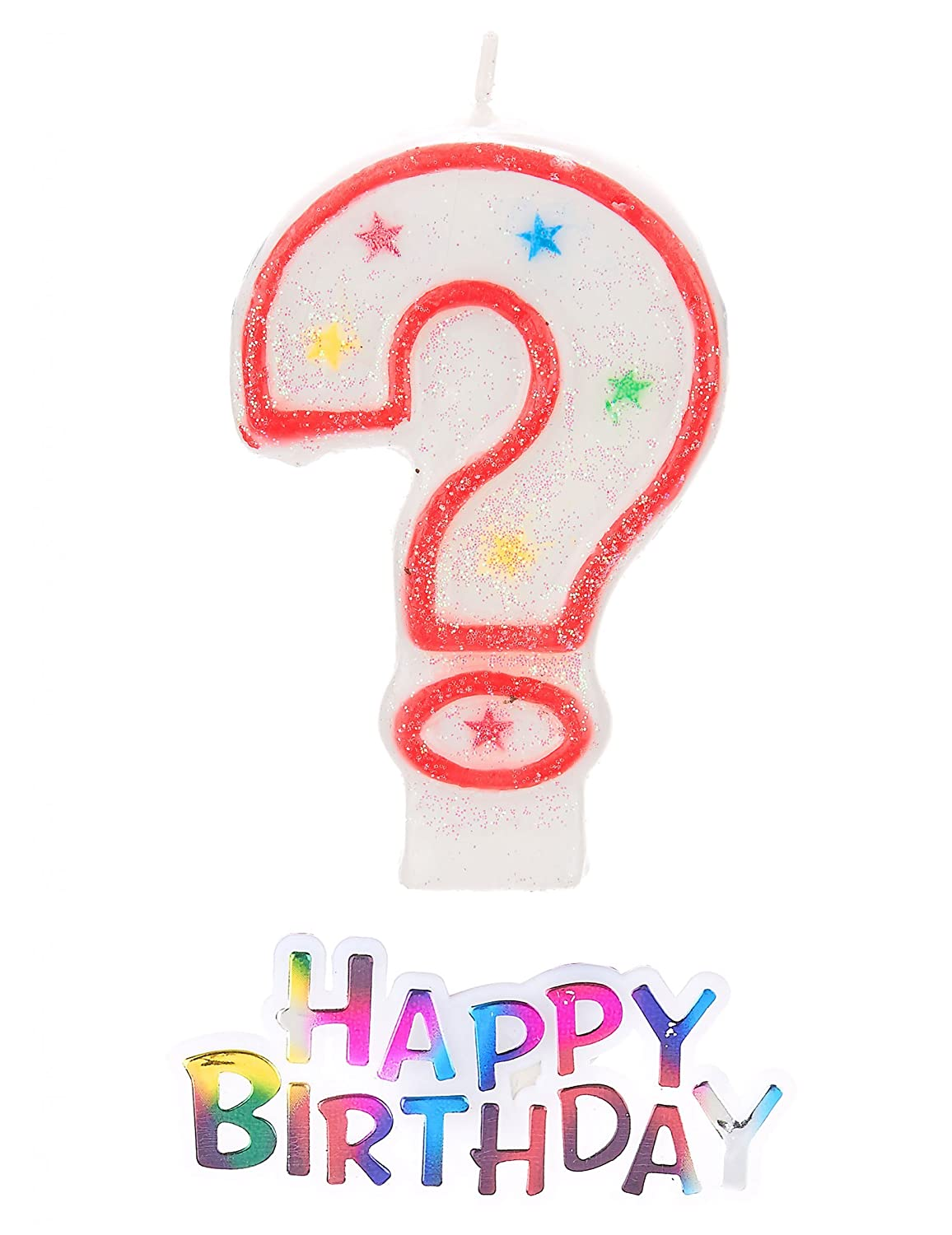 Vela como signo de interrogación Plus * Happy Birthday ...