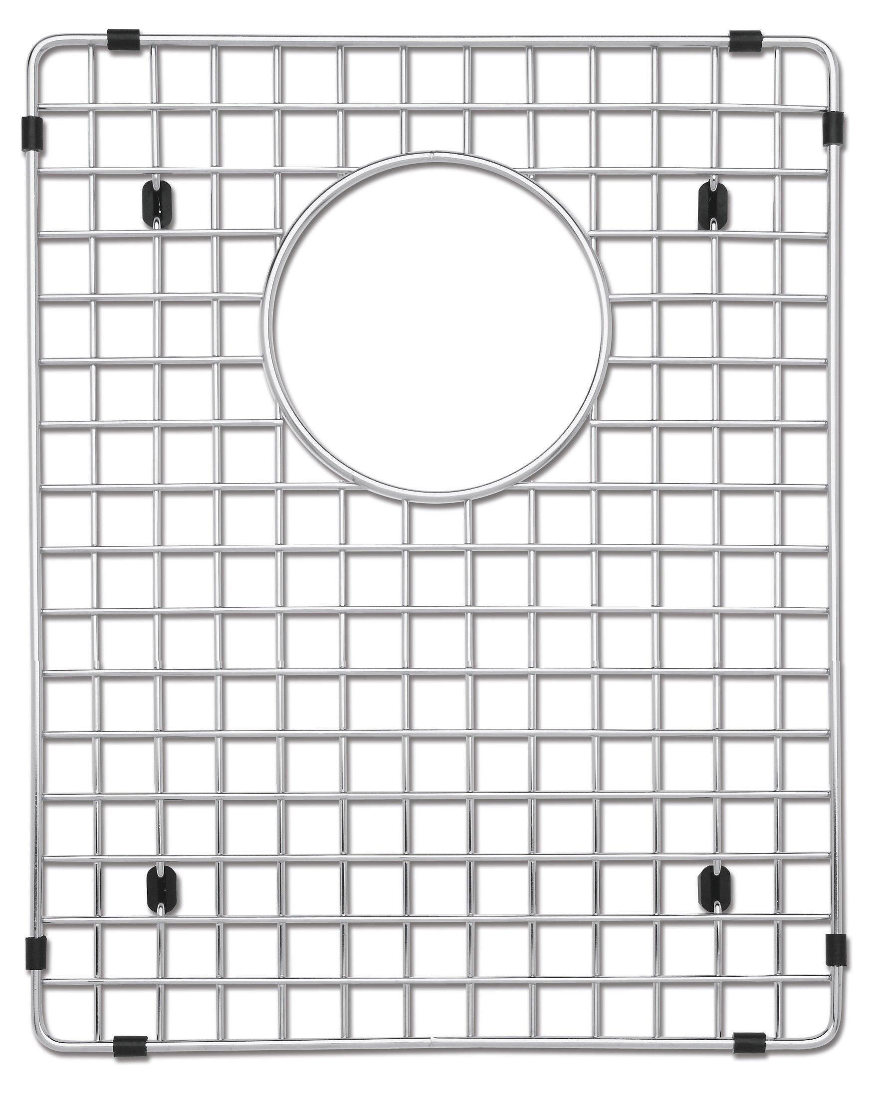 Blanco 223189 Stainless Steel Sink Grid, Fits Precision and Precision 10 1-3/4 Bowl right bowl, Stainless Steel