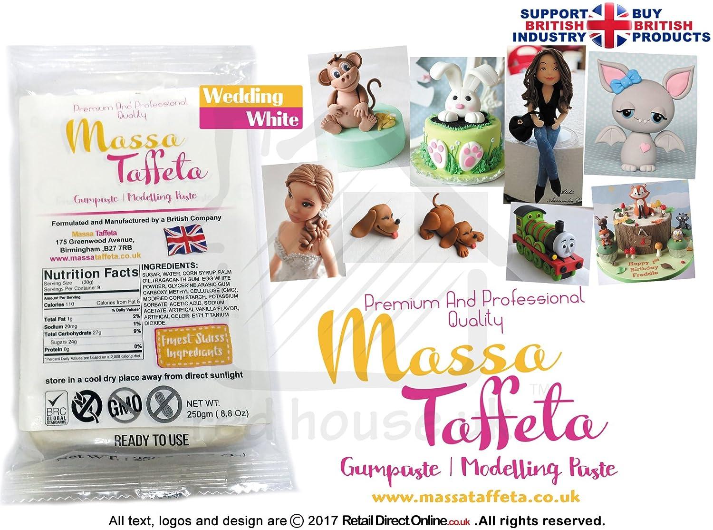Massa Taffeta Modelliermasse, Blütenpaste, Modelierpaste, 1 kg, zum ...