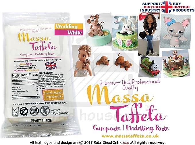 Massa Taft | Gum Paste | Modellierpaste | Blumen | Basis einfügen ...