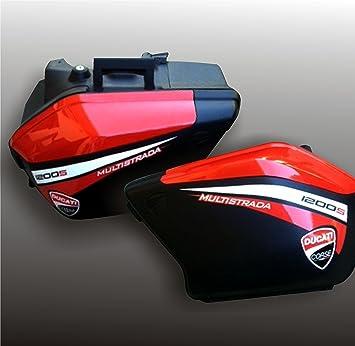 Pegatinas adhesivas calcomanía para maletas DUCATI MULTISTRADA 1200: Amazon.es: Coche y moto