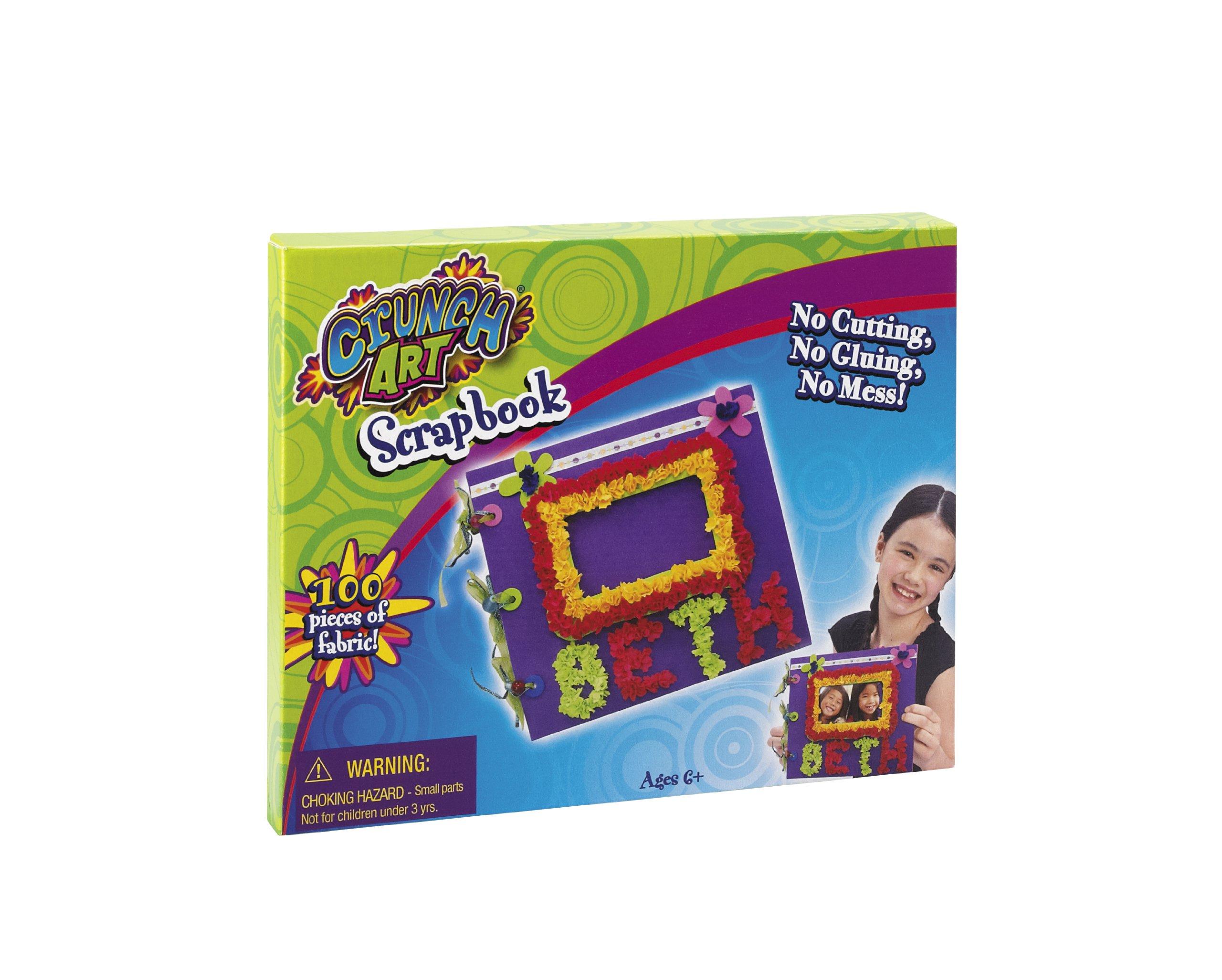 Little Kids Crunch Art Scrapbook Set