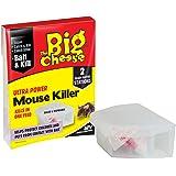 Big Cheese Ultra Power Mouse Killer-Twinpack Bait Box