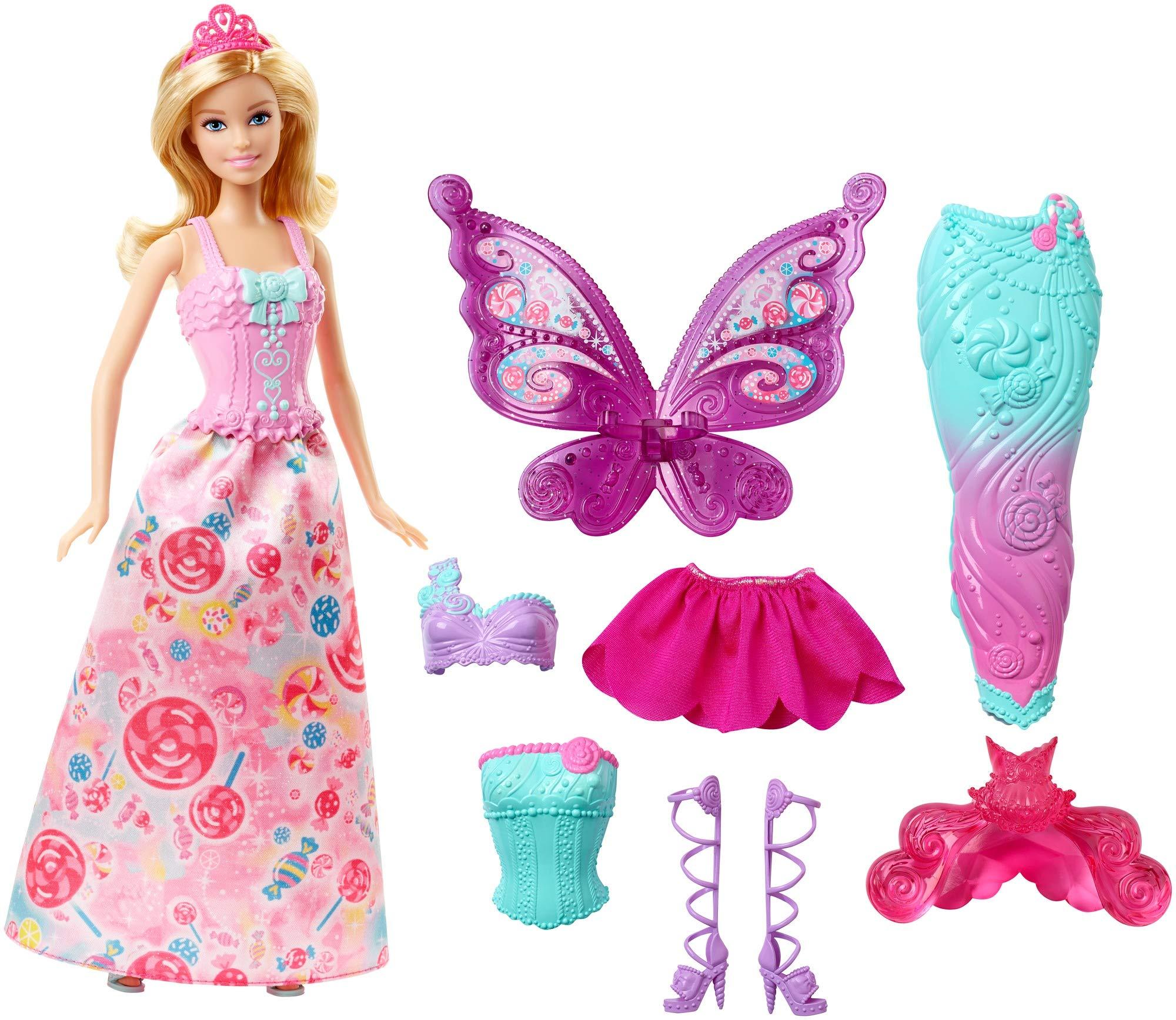 Barbie Fairytale Dress Up Doll [Amazon Exclusive]