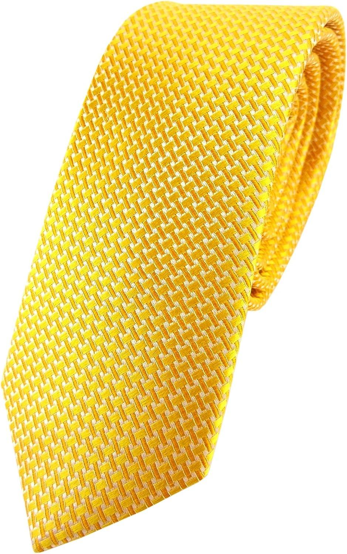 TigerTie Cravatte di seta di raso Cravatta in seta turchese-blu grigio lavorato