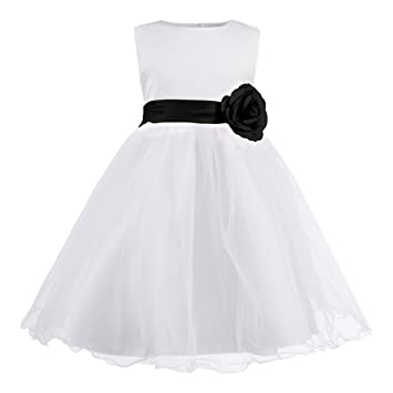 Katara - 1690-27 Festliches Kinder Blumenmädchen Kleid für Hochzeit ...