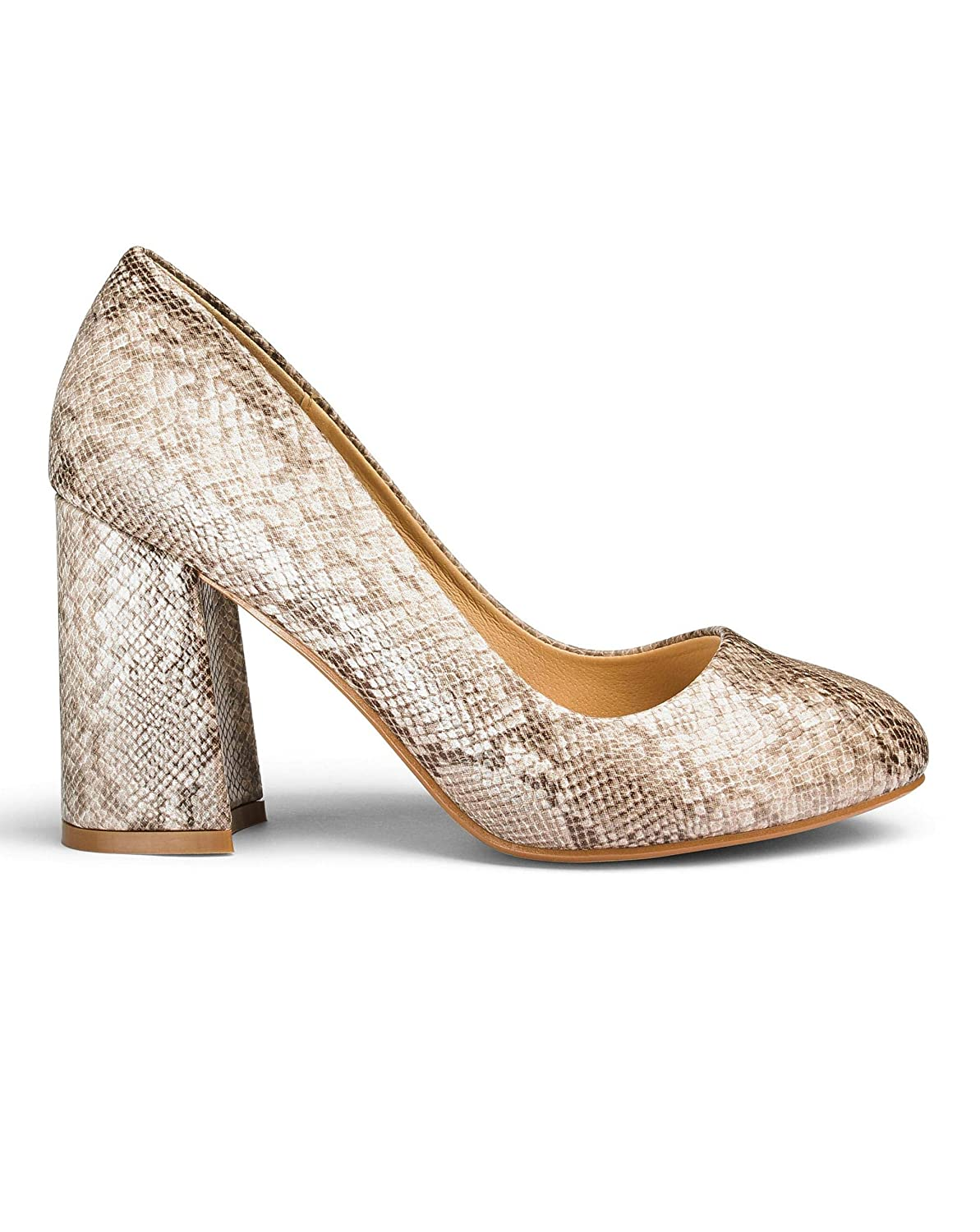 clients first yet not vulgar clear and distinctive JD Williams Sole Diva Slanted Heel Courts Eee Fit: Amazon.co ...