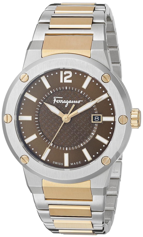 Uhr nur Zeit Herren Salvatore Ferragamo f-80 Elegante Cod. fif040015