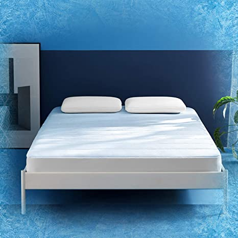 cooling gel memory foam mattress zinus reddit
