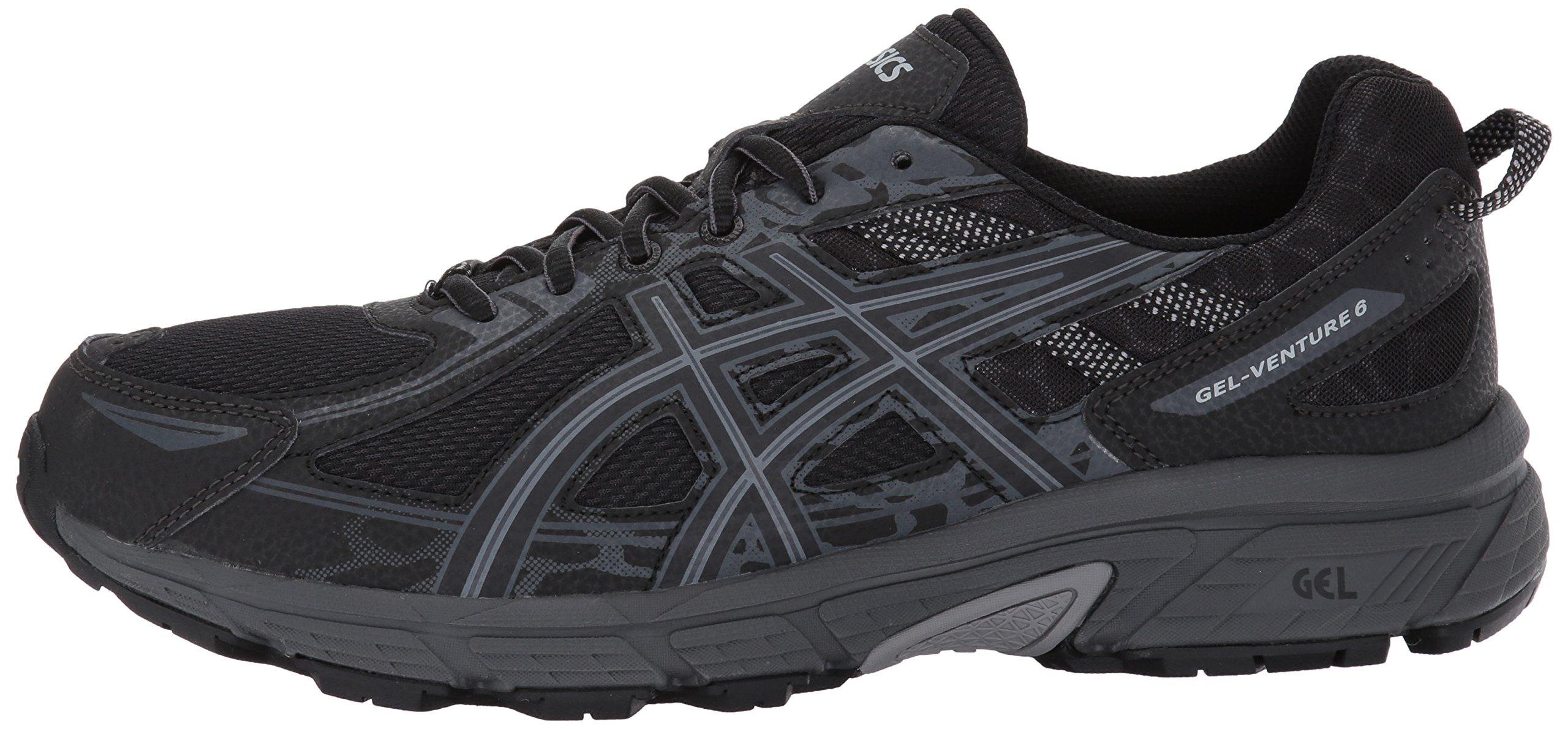 ASICS Mens Gel-Venture 6 Running Shoe, Black/Phantom/Mid Grey, 7 Medium US by ASICS (Image #5)