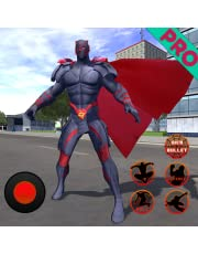 Flying Panther Crime City Spider Hero Pro