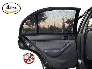 Amazon.com  Car Side Window Sunshade Mesh Universal Fit Car Front ... 00928a2de39