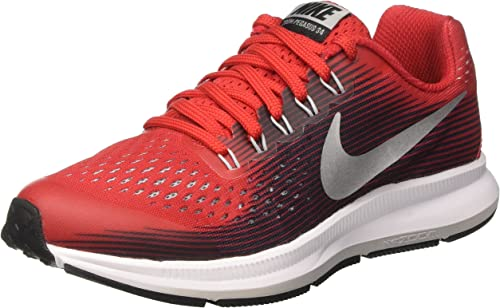 Nike Zoom Pegasus 34 GS, Zapatillas de Running para Niñas, Rojo (University Red/Black/Tough Red/White), 38.5 EU: Amazon.es: Zapatos y complementos
