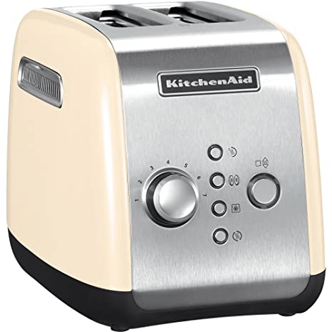KitchenAid Classic 5KMT221EAC Tostapane a 2 Scomparti, Crema: Amazon ...