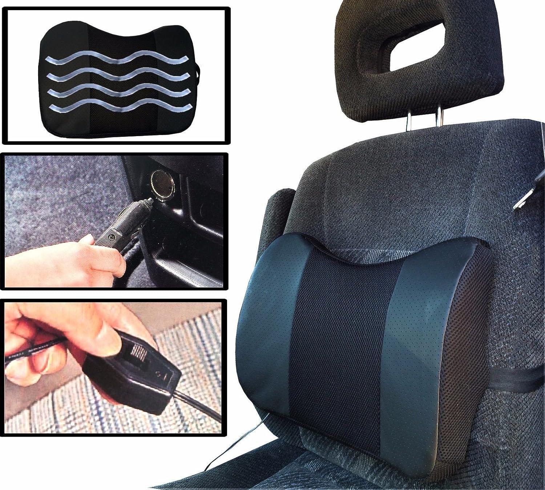 Amazon.com: Negro coche cojín con vibración, diseño ...