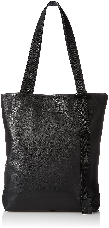 [パトリック ステファン] トートバッグ Leather tote 'adjustable shoulder' トートバッグ 172ABG02 B0792T5PSJブラック