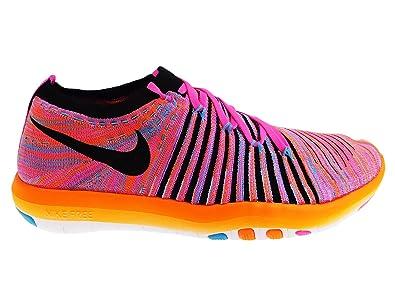buy popular d75dc d9131 Nike WM Free Transform Flyknit, Chaussures de Fitness pour Femme Rose 38  1/2: Amazon.fr: Chaussures et Sacs
