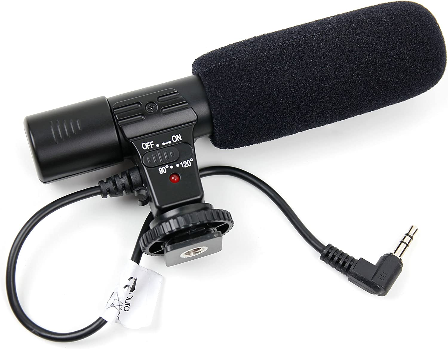 RX10 IV /& DSC-RX10M4 Cameras DURAGADGET Stereo Microphone Compatible with Sony Alpha A7 III Alpha A7R III Alpha A9 II