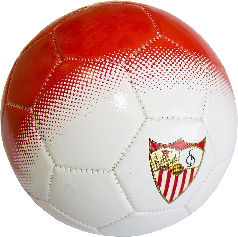 Sevilla CF Balsev Balón, Blanco/Rojo, 2: Amazon.es: Deportes y ...