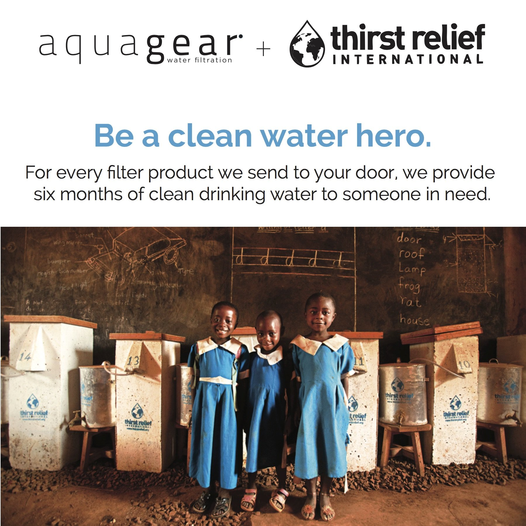 Aquagear Pitcher Replacement Water Filter – Removes Fluoride & Lead – 150 Gallon Capacity Filter by Aquagear (Image #3)
