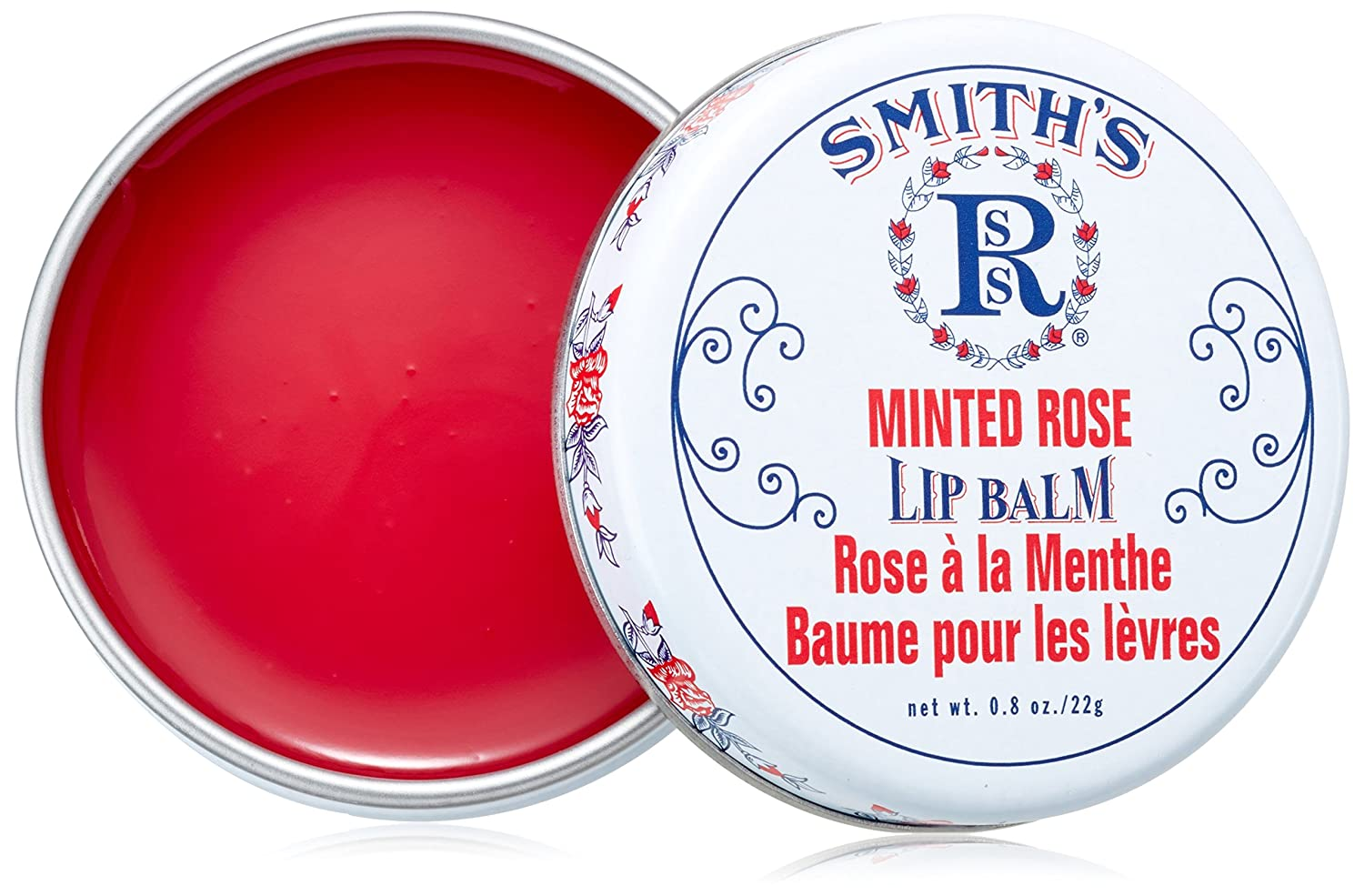 Rosebud Minted Rose Lip Balm Tin Minted Rose Rosebud Perfume Co. MR