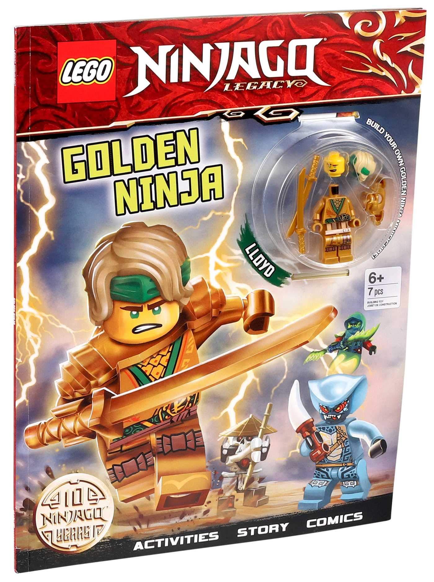 Amazon Com Lego R Ninjago R Golden Ninja Activity Book With Minifigure 9780794447519 Ameet Publishing Books