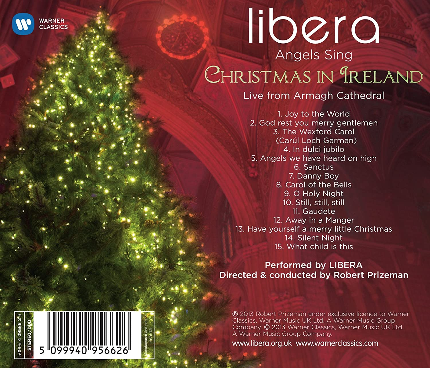 Libera, Various, Robert Prizeman - Angels Sing: Christmas in Ireland ...
