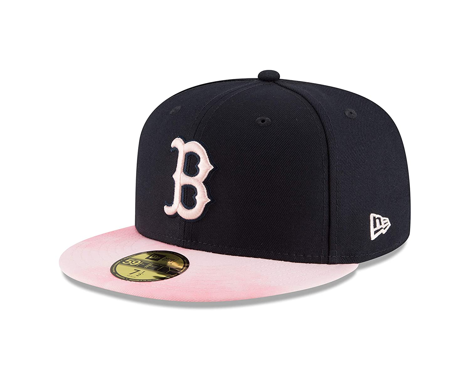 ce9ef0c23c3e22 Amazon.com : New Era Boston Red Sox 2019 Mother's Day On-Field 59Fifty  Fitted Hat - Navy/Pink : Clothing