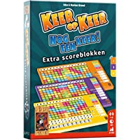 999 Games - Keer op Keer Scoreblok 3 stuks Level 2, 3 en 4 Dobbelspel - vanaf 8 jaar - Een van de beste spellen van 2018…