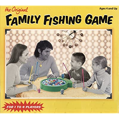 Miles Kimball The Original Family Fishing Game: Toys & Games