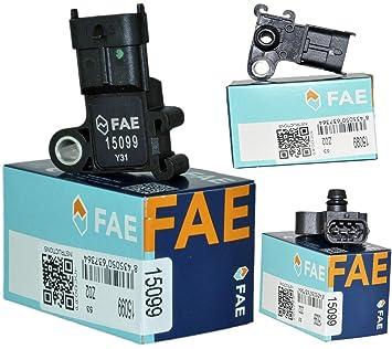 Mapa Sensor/Sensor de presión colector tvau55573248: Amazon.es: Coche y moto