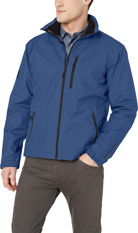 Helly Hansen Crew Midlayer Jacket Chaqueta Deportiva, Azul (Azul 603), Medium (Tamaño del Fabricante:M) para Hombre