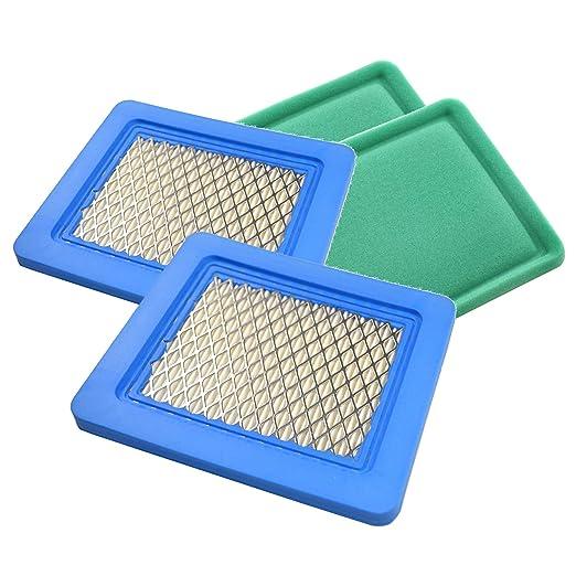 HQRP 2-Pack cartucho de filtro de aire para Toro 20030 20033 ...