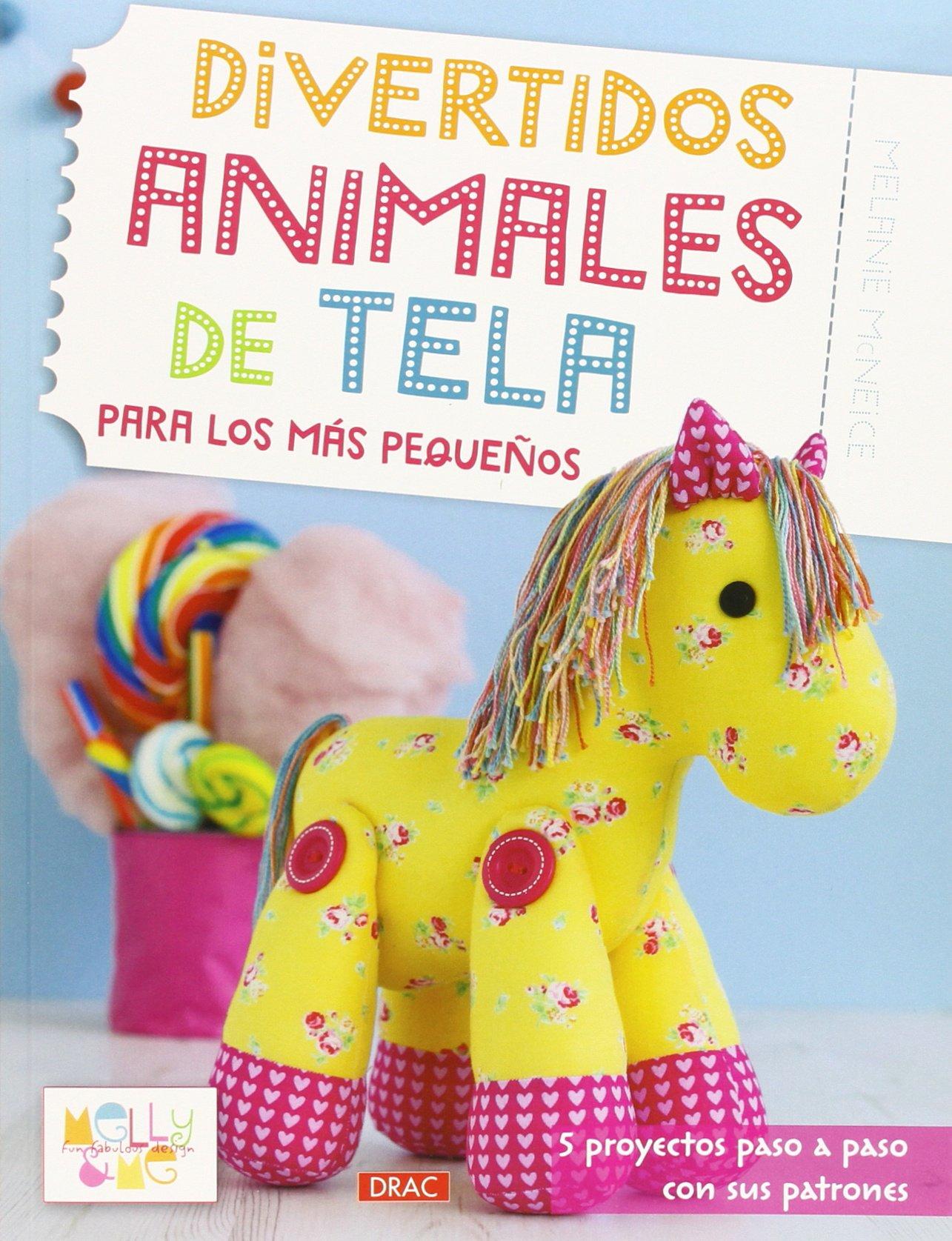 Divertidos Animales De Tela Para Los Más Pequeños Labores: Amazon ...