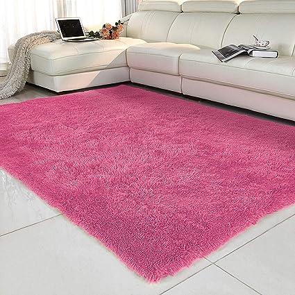 Amazon.com: Aicehome Living Room Rug, 4 x 5.3 Feets Super ...