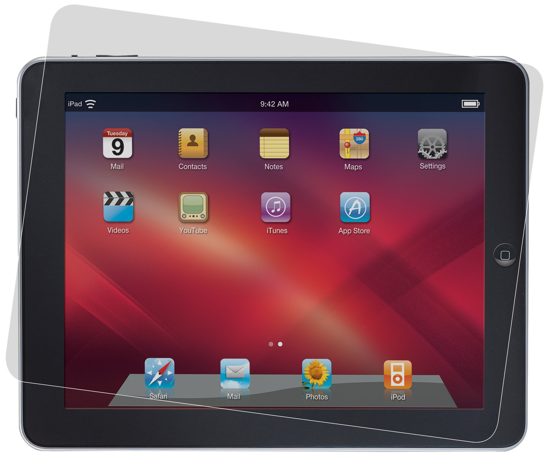3M Privacy Screen Protector for Apple iPad (Landscape)