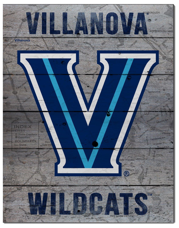 KH Sports Fan 16x20 Villanova Wildcats Road to Victory Collage Pallet Pride Plaque