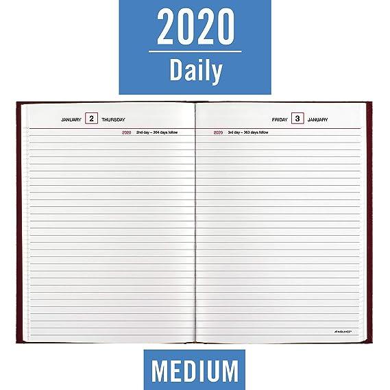 Amazon.com: AT-A-GLANCE 2020 Agenda estándar, 5-3/4
