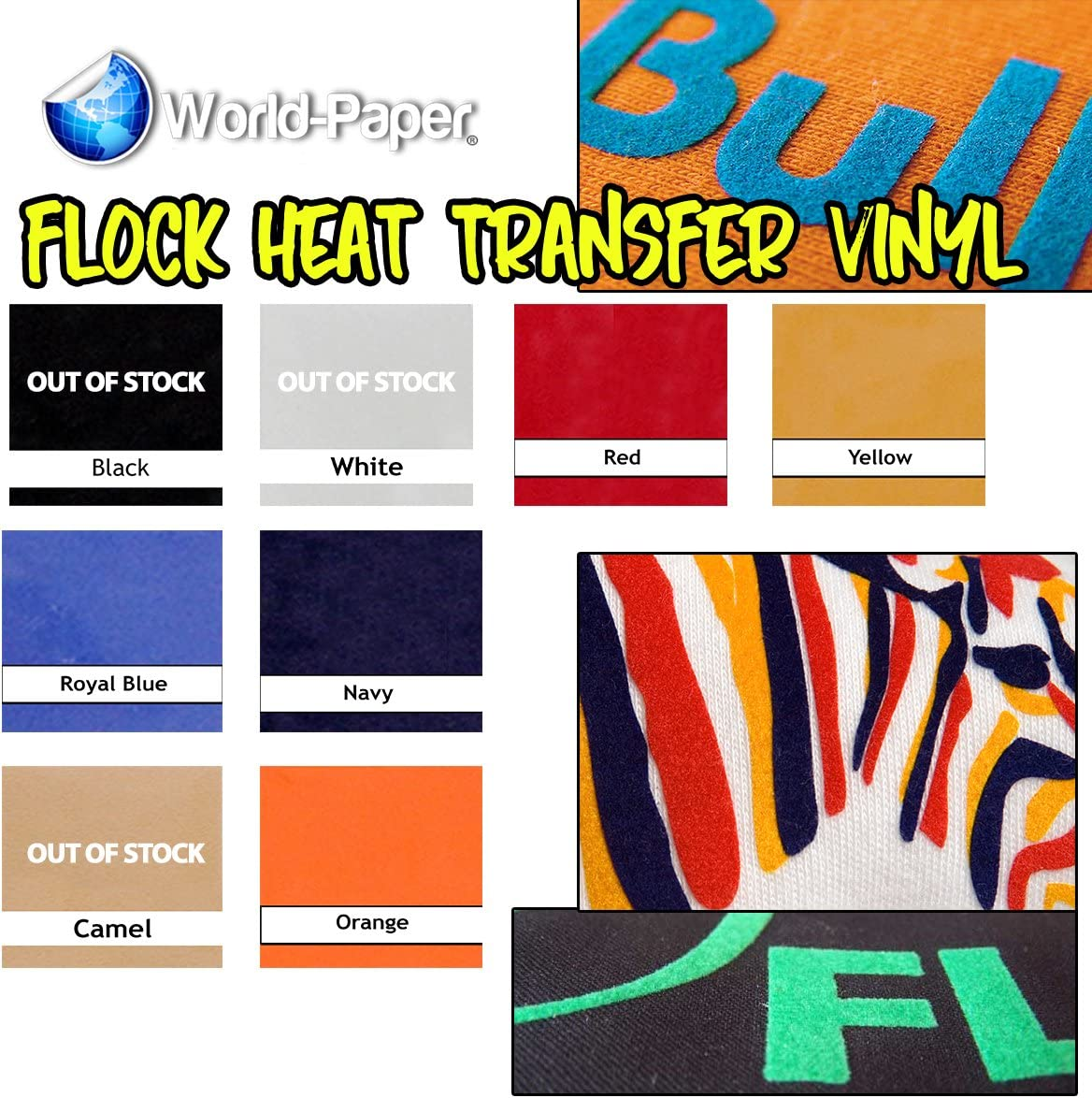 Trans vinilo Flock 12 cm, de 20 pulgadas Color: Azul real para la silueta y Cricut: Amazon.es: Juguetes y juegos
