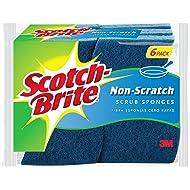 Scotch-Brite 6 Piece Multi Purpose Scrub Sponge Pack ( Pack of 1 )