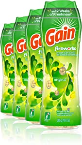 Gain Fireworks in-wash Scent Booster Beads, Original, 10 Ounce, 4 Count