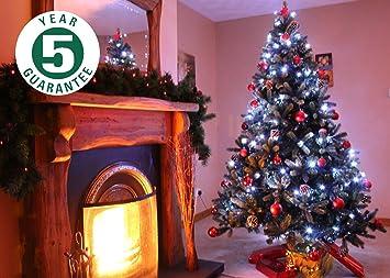 Best Artificial 6ft Luxury Hinged Christmas Tree Real Feel Tender