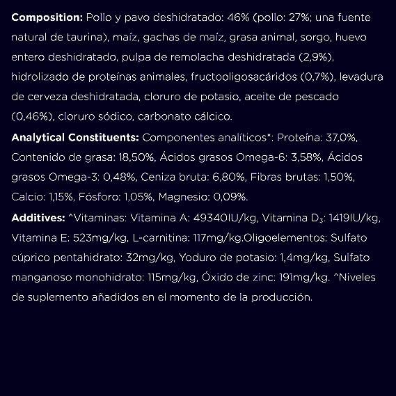 Eukanuba Top Condition Rico en Pollo 7+ Años 2 kg