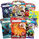 Imagine Ink Coloring Book Assorted Set for Boys with Stickers (Bundle Includes 6 No Mess Books Featuring Cars, Toy Story and