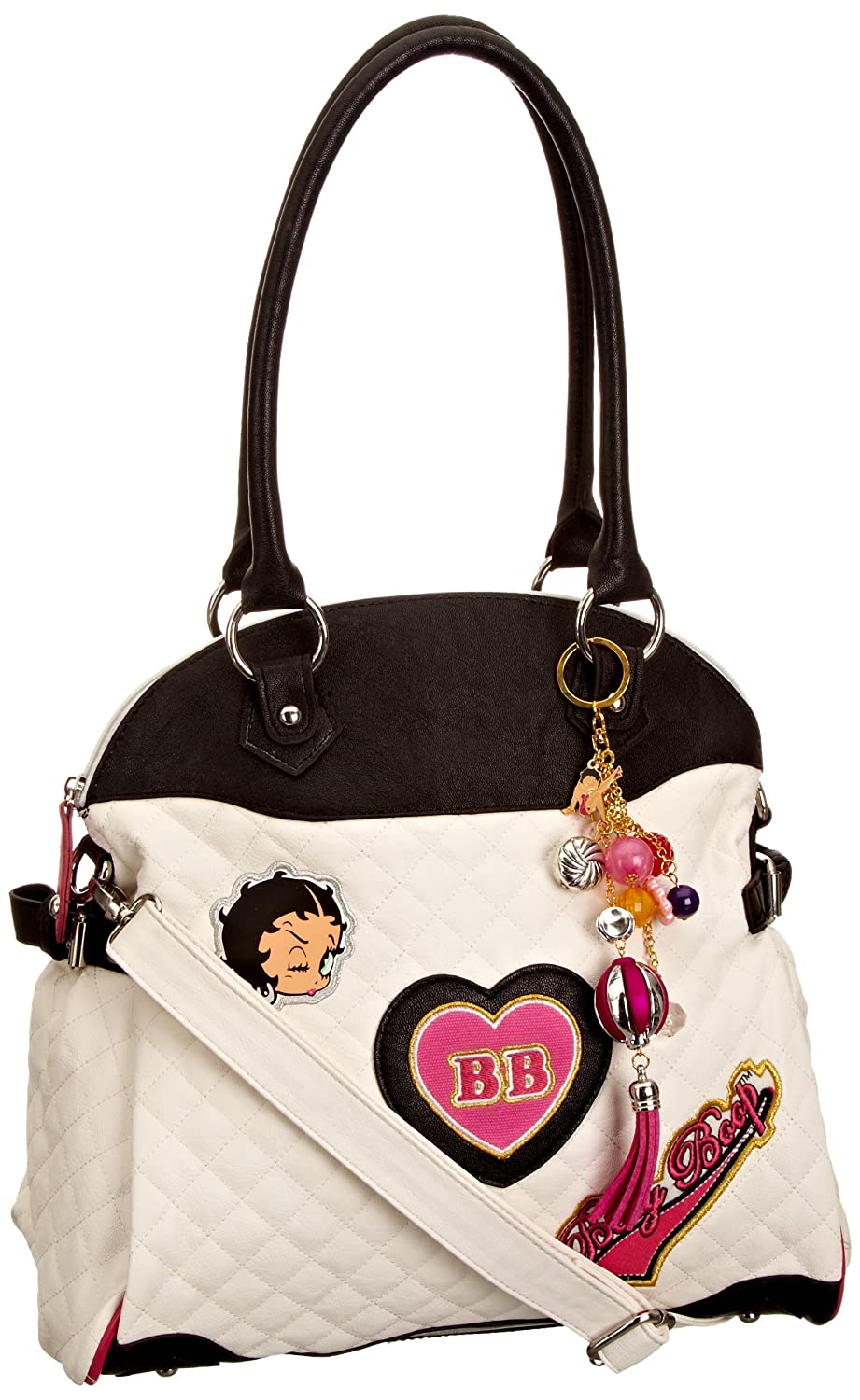Betty Boop Girl Time Women's Quilted Handbag